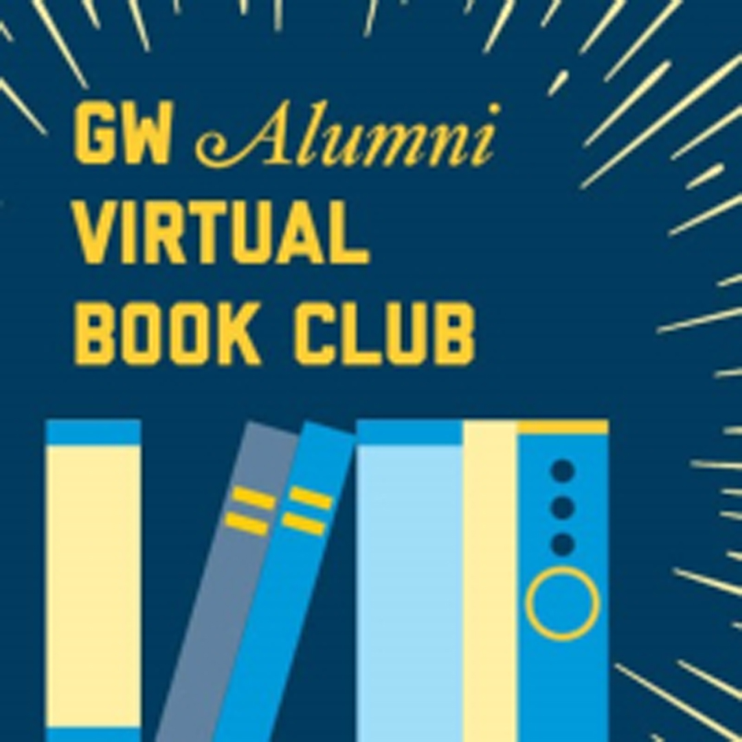 GW Alumni Virtual Book Club graphic